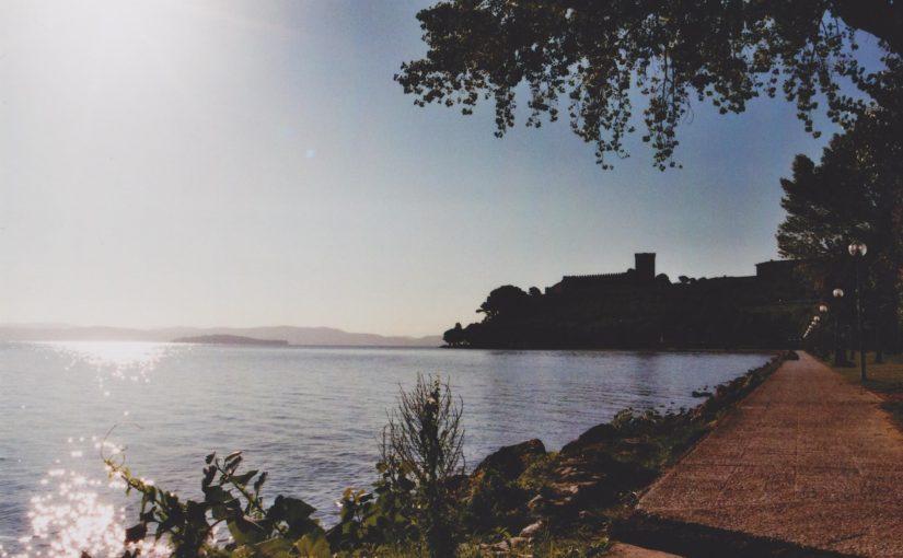 Die Umrundung des Trasimenischen Sees (Aug. 2015)