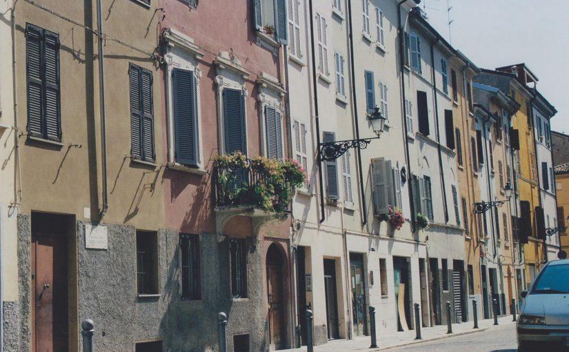 Der Baptistery von Parma (Aug.2011)