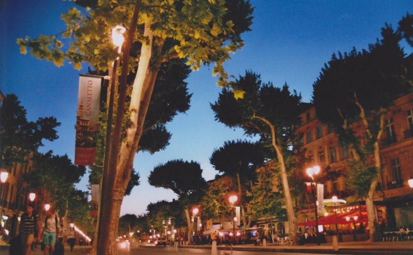 Cours Mirabeau – Aix‐en‐Provence (Mai 2015)