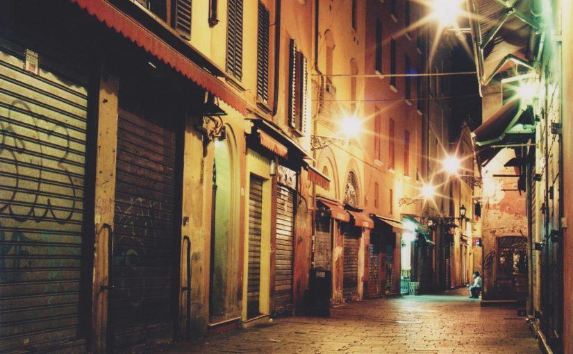 Bologna bei Nacht (Aug. 2011)
