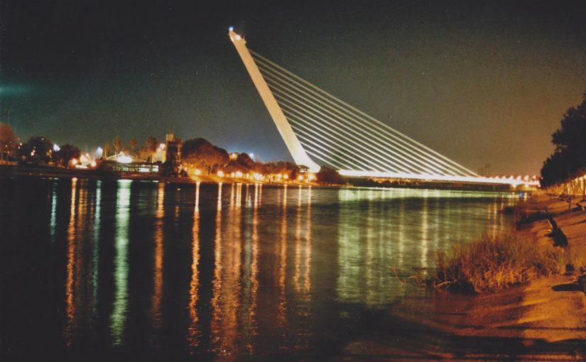 Sevilla bei Nacht (Dez.2014)
