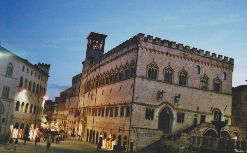 Perugia bei Nacht (Aug. 2015)