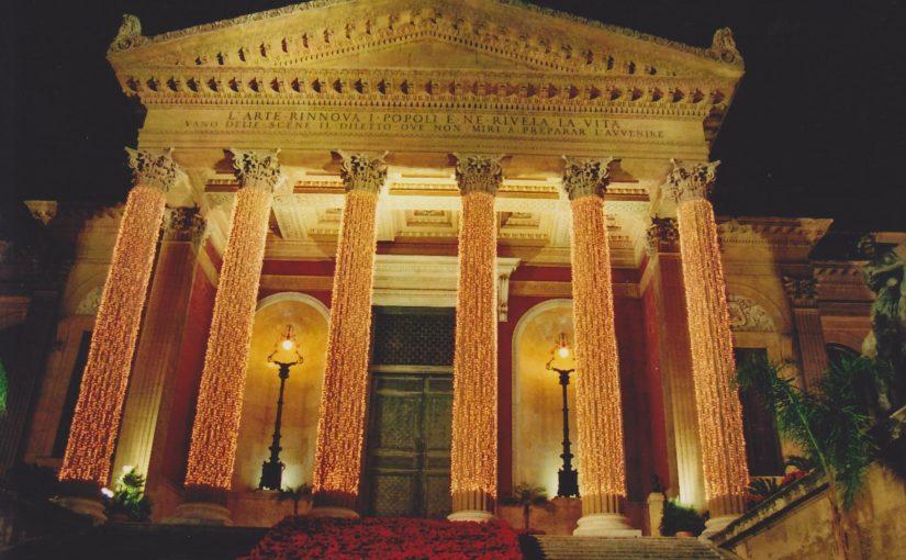 Palermo bei Nacht (Dez.2008)