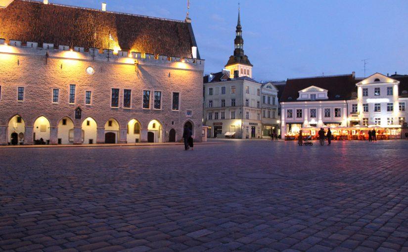 Tallinn bei Nacht (Juni2017)