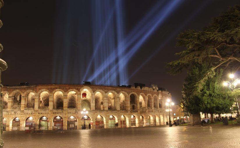 Verona bei Nacht (Okt.2017)