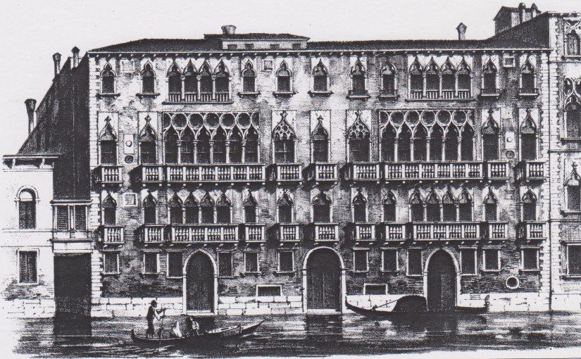 Palazzo Giustiniani Venedig (1858/2013)