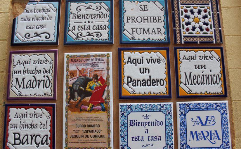 Keramikkunst in Sevilla